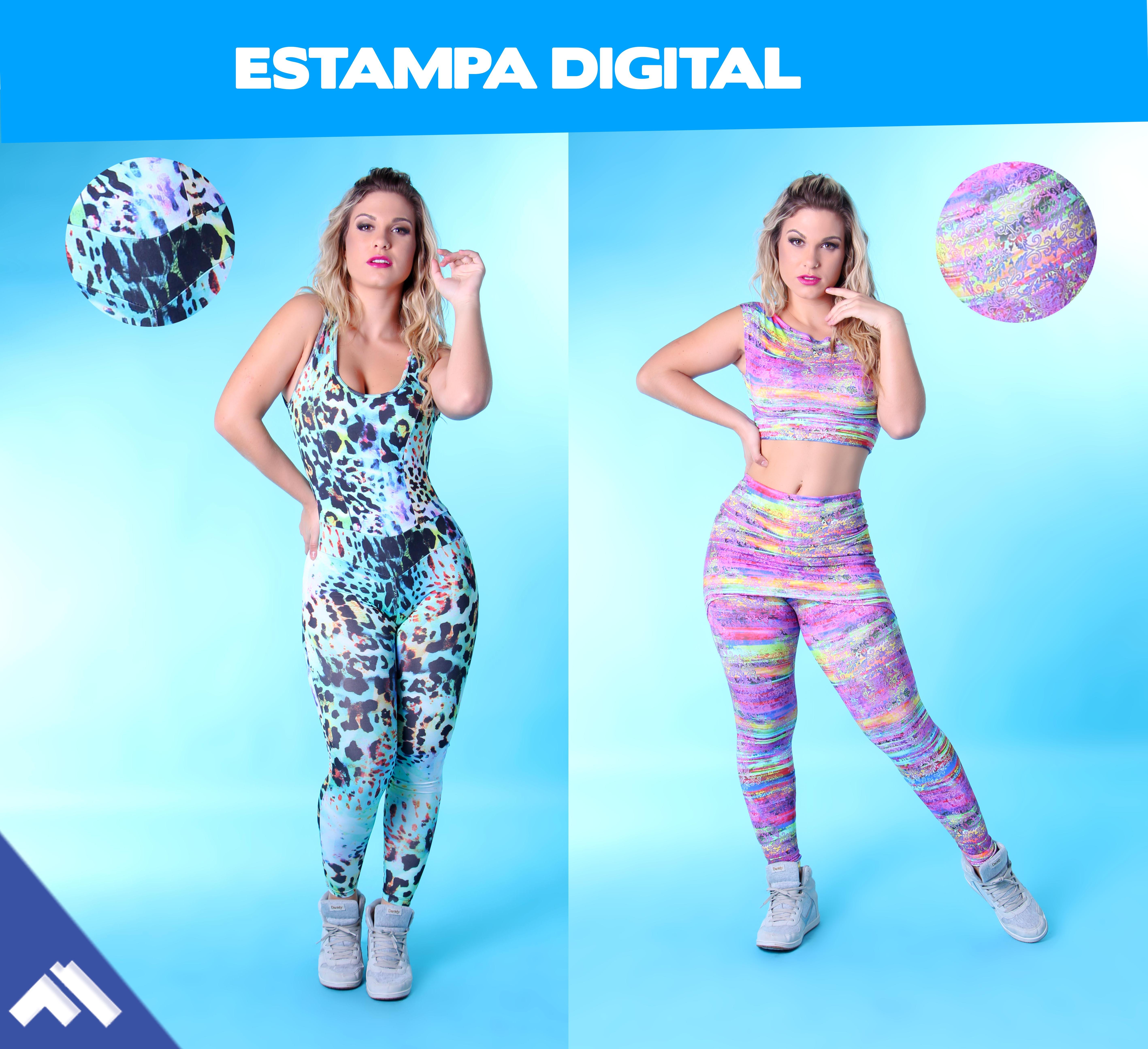 Poliamida x Poliéster – Tipos de tecido moda Fitness  31a059ee97e0e